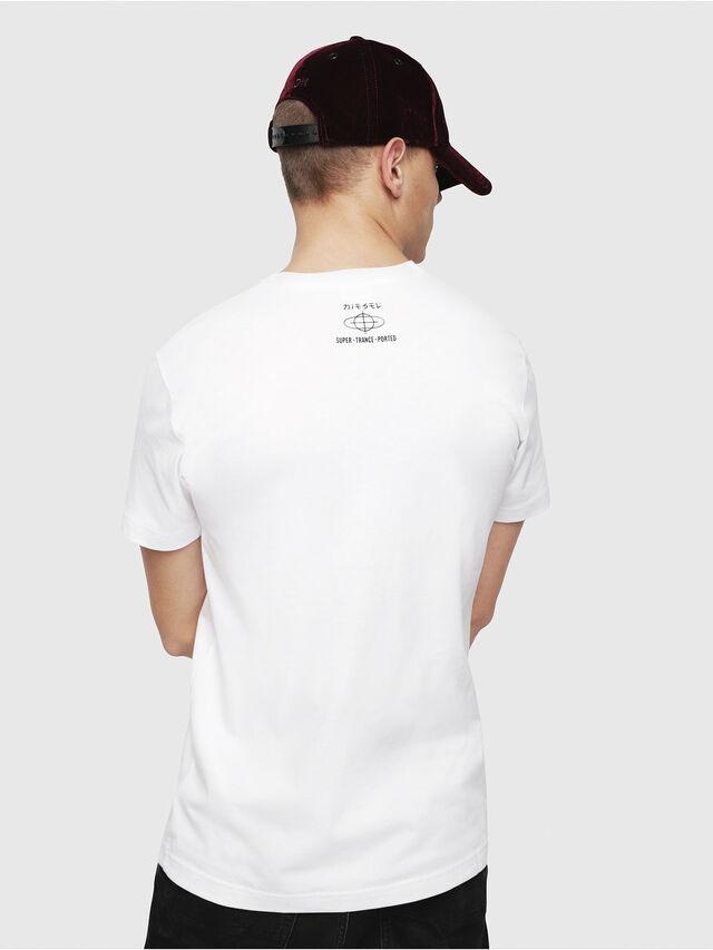 Diesel - T-DIEGO-YD, White - T-Shirts - Image 2