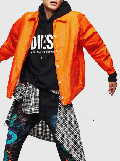 Diesel - J-AKINATOR-TVK, Orange - Jackets - Image 4