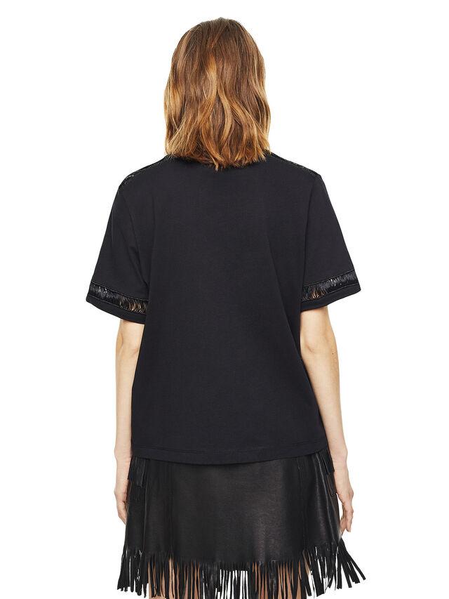 Diesel - TREENA, Black - T-Shirts - Image 2