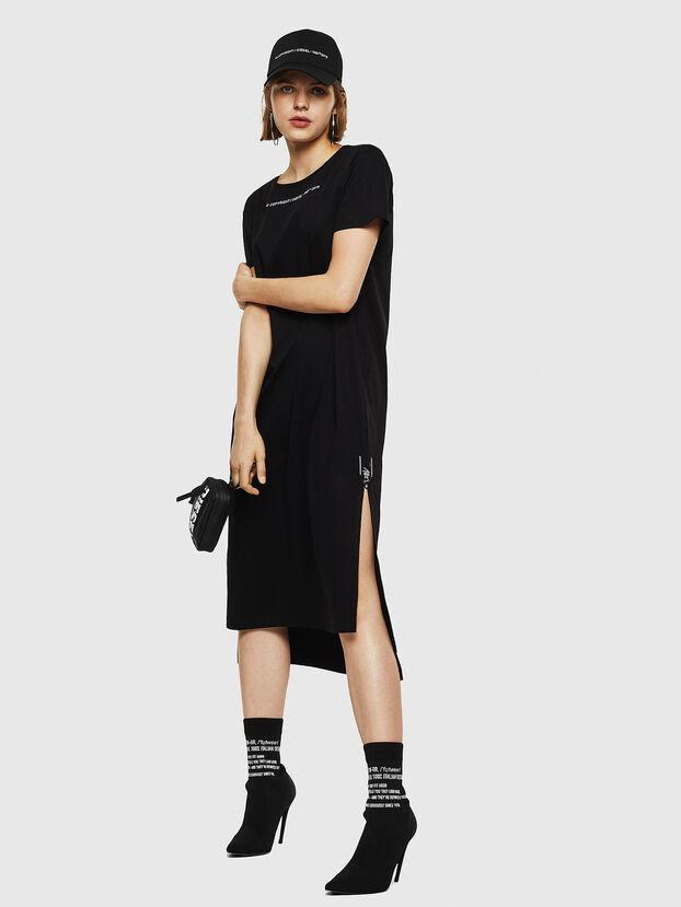 D-FELIX-LONG, Black - Dresses