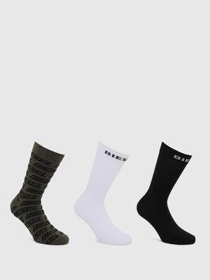 SKM-RAY-THREEPACK, Black/White - Socks
