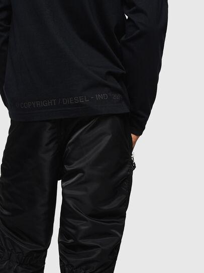 Diesel - T-JUST-LS-BX3, Black - T-Shirts - Image 6