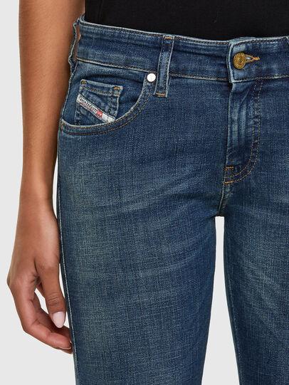 Diesel - Slandy Low 069KW, Dark Blue - Jeans - Image 3