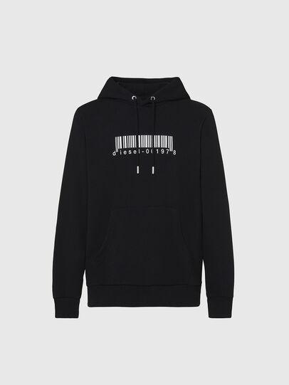 Diesel - S-GIRK-HOOD-X2, Black - Sweaters - Image 1