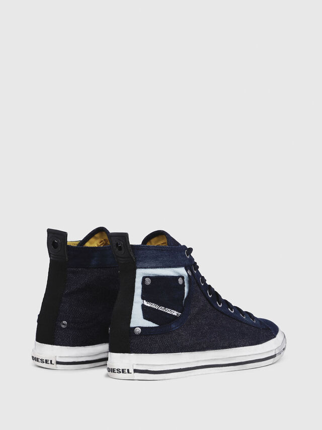 Diesel - EXPOSURE I, Dark Blue - Sneakers - Image 3