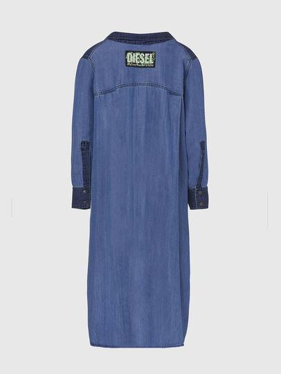 Diesel - DE-NIAVY, Light Blue - Dresses - Image 2