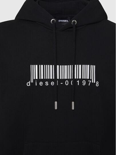 Diesel - S-GIRK-HOOD-X2, Black - Sweaters - Image 3