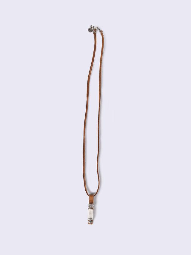 A-DAGGER NECK, Light Brown