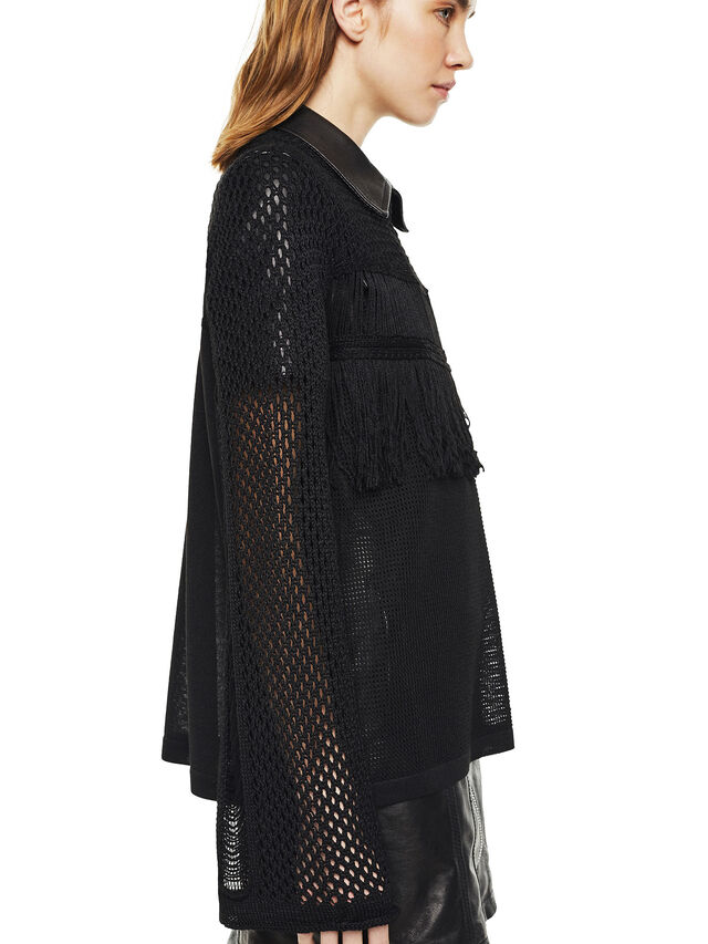 Diesel - MOFRAN, Black - Knitwear - Image 3