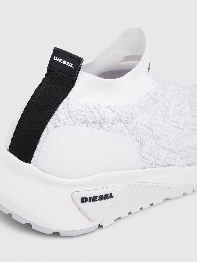 Diesel - S-KB ATHL SOCK, White - Sneakers - Image 4