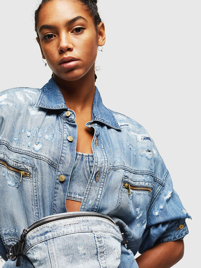 Diesel - ADRIA, Grey Jeans - Belt bags - Image 6