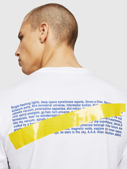 Diesel - T-JUST-A2, White - T-Shirts - Image 3