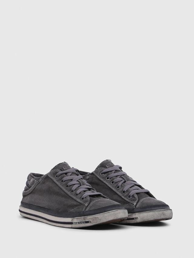Diesel - EXPOSURE IV LOW  W, Metal Grey - Sneakers - Image 2