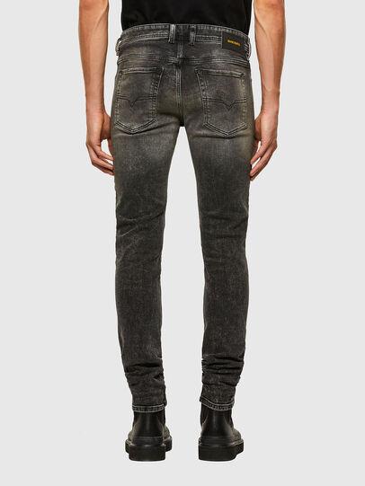 Diesel - Sleenker 009IS, Black/Dark grey - Jeans - Image 2