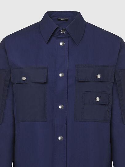 Diesel - S-AUSTIN, Blue - Shirts - Image 3