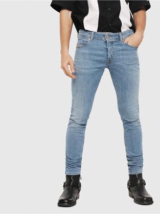 7a9cb68d Mens Sleenker Skinny Jeans | Diesel Online Store