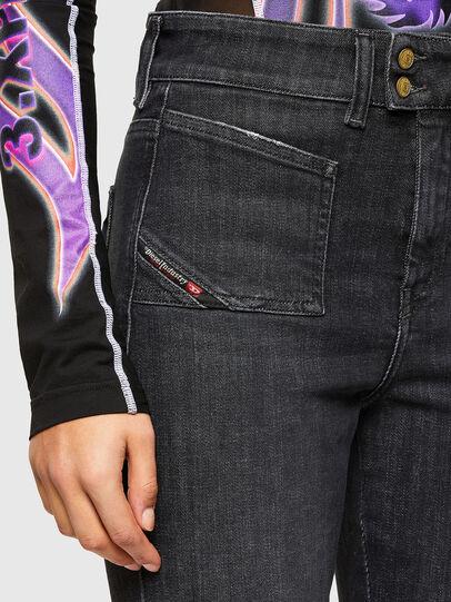 Diesel - D-Earlie 009JZ, Black/Dark grey - Jeans - Image 3