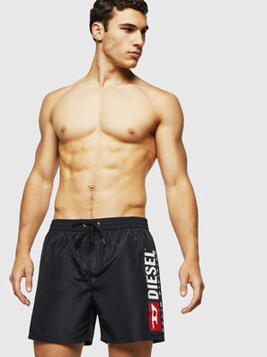 BMBX-WAVE 2.017, Black - Swim shorts