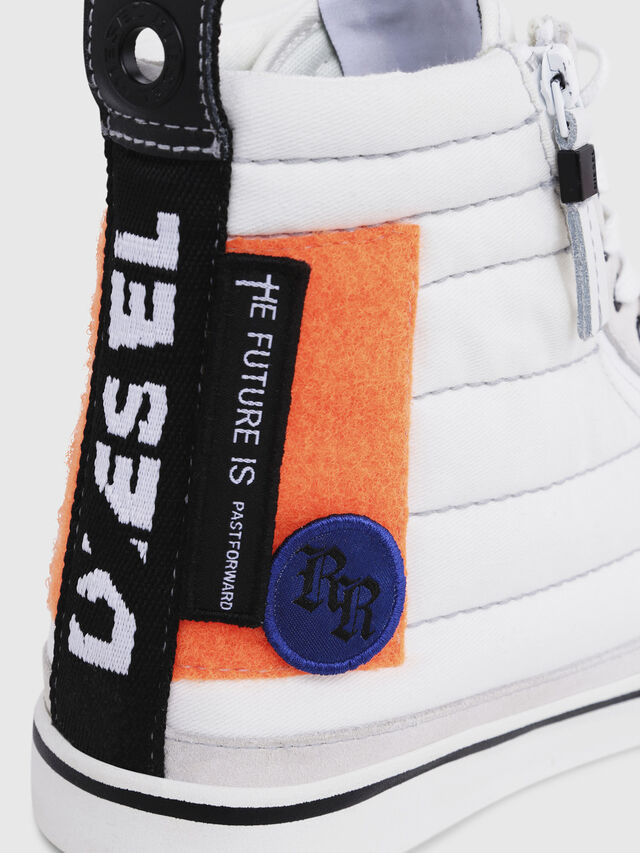 Diesel - D-VELOWS MID PATCH, Multicolor/White - Sneakers - Image 5