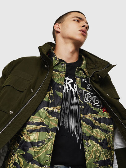 Diesel - J-TOUCHIN, Military Green - Jackets - Image 4