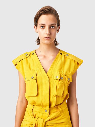 Diesel - D-GIUDITTA, Yellow - Dresses - Image 3
