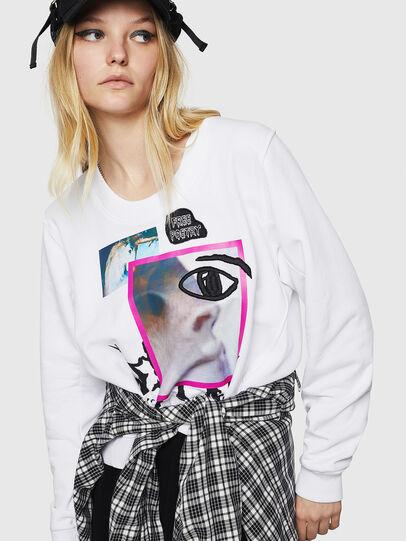 Diesel - F-LYANYDY-B, White - Sweaters - Image 3