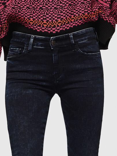 Diesel - Slandy 082AU, Dark Blue - Jeans - Image 3