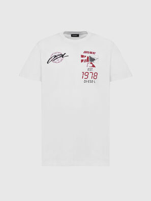 T-DIEGOS-X43, White - T-Shirts
