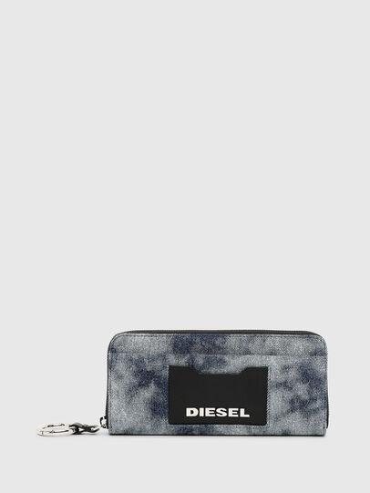 Diesel - ALLIUM, Blue Jeans - Zip-Round Wallets - Image 1