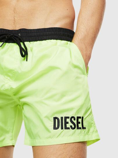 Diesel - BMBX-WAVE 2.017, Green Fluo - Swim shorts - Image 3