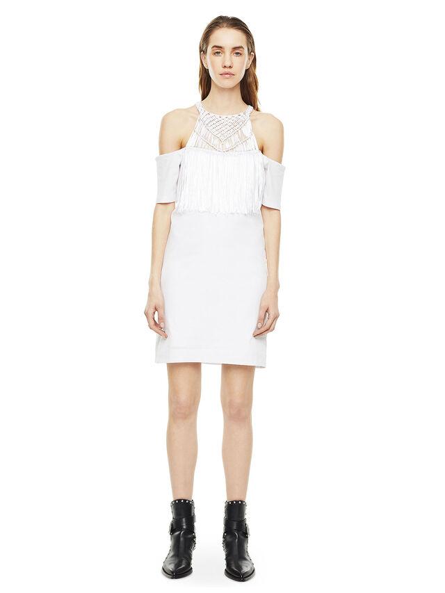 Diesel - DERSEY, White - Dresses - Image 1