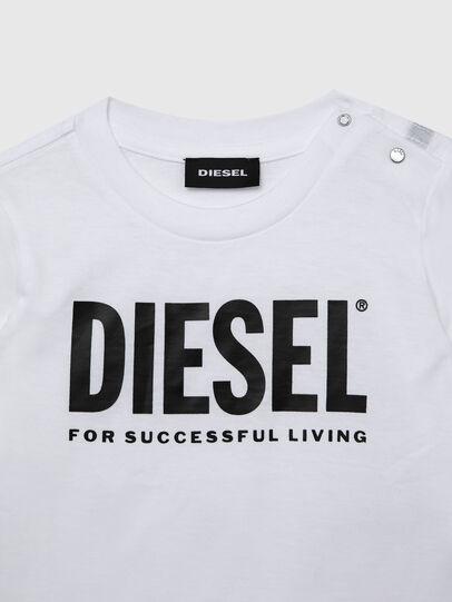 Diesel - TJUSTLOGOB ML, White - T-shirts and Tops - Image 3