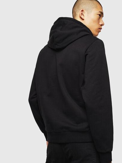 Diesel - S-GIRK-HOOD-J5, Black - Sweaters - Image 2