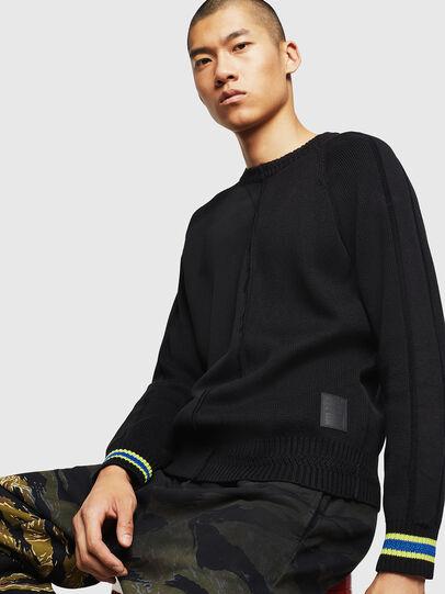 Diesel - K-BOX, Black - Knitwear - Image 4