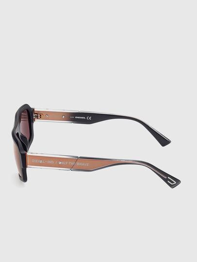 Diesel - DL0348, Black/Red - Sunglasses - Image 3