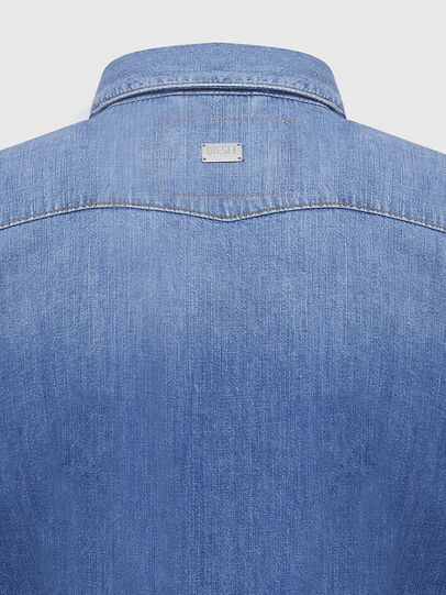 Diesel - DE-RINGY, Light Blue - Denim Shirts - Image 4