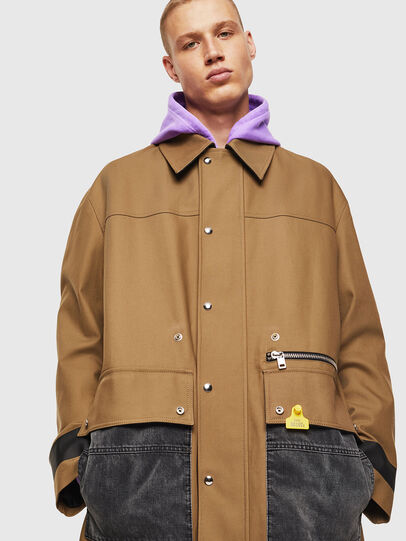 Diesel - J-ROBERT, Brown - Jackets - Image 4