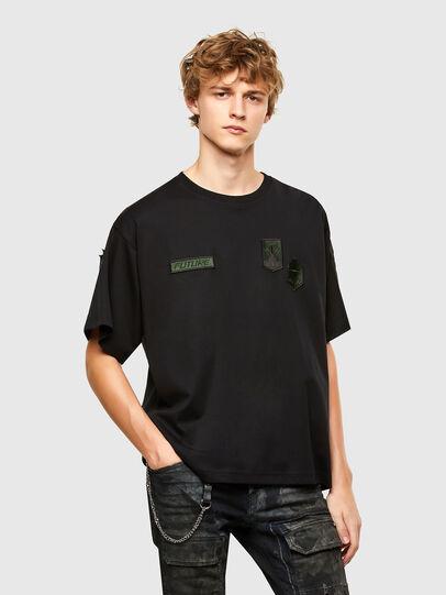 Diesel - T-CROLF, Black - T-Shirts - Image 1
