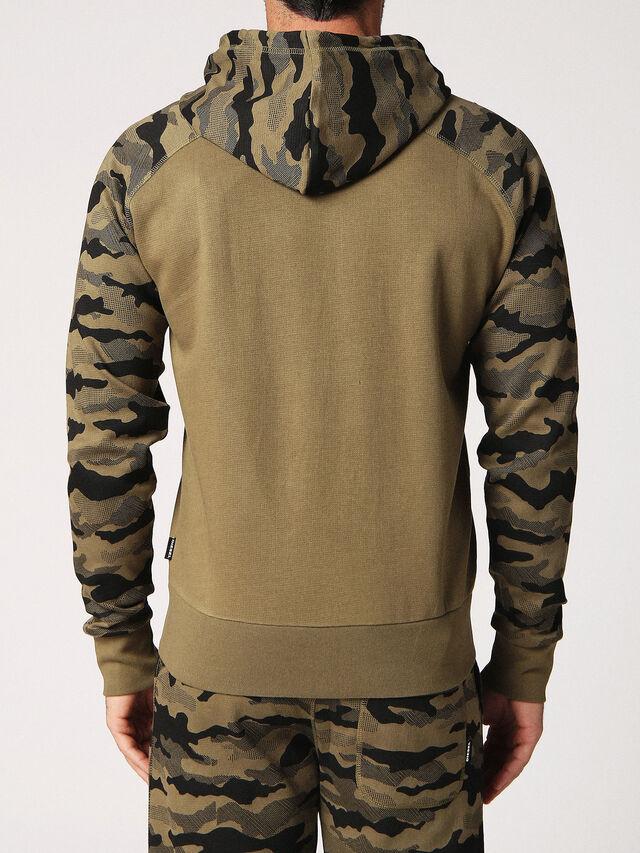Diesel - UMLT-BRIANZ, Green Camouflage - Sweaters - Image 2