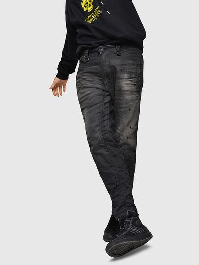 Diesel - D-Earby JoggJeans 069GN, Black/Dark grey - Jeans - Image 4