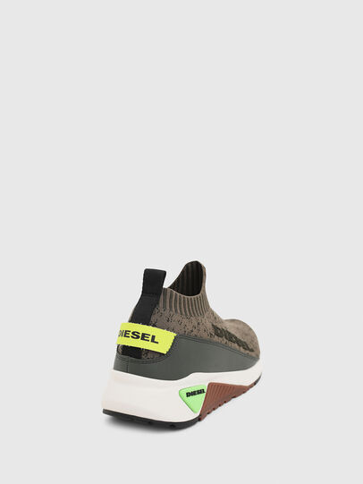 Diesel - S-KB SOCK QB, Olive Green - Sneakers - Image 5