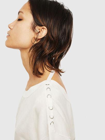 Diesel - M-PERLA-A, White - Knitwear - Image 3