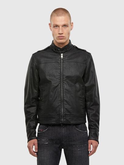 Diesel - D-JEI-TW, Black - Denim Jackets - Image 1
