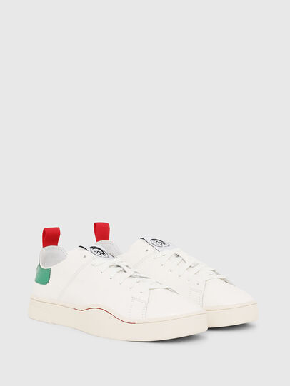 Diesel - S-CLEVER LS, White/Green - Sneakers - Image 2