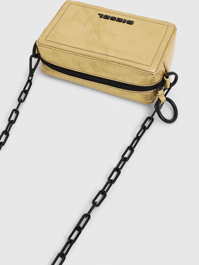 Diesel - ROSA' PCHAIN, Gold - Crossbody Bags - Image 6