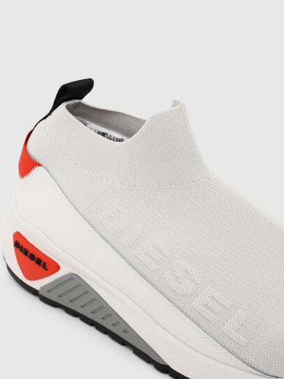 Diesel - S-KB SOCK QB, White/Grey - Sneakers - Image 4