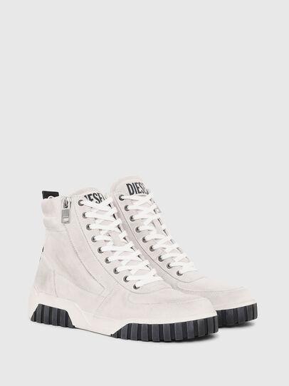 Diesel - S-RUA MID, White - Sneakers - Image 2