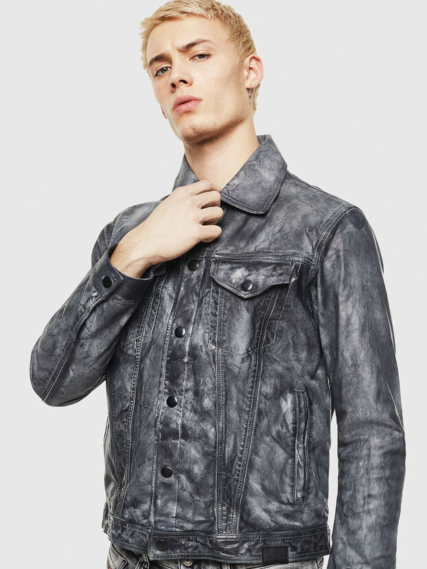 L-NHILL, Black - Leather jackets