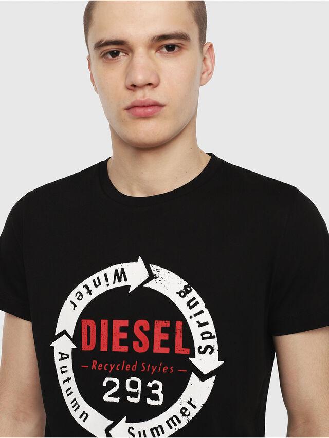 Diesel - T-DIEGO-C1, Black - T-Shirts - Image 3