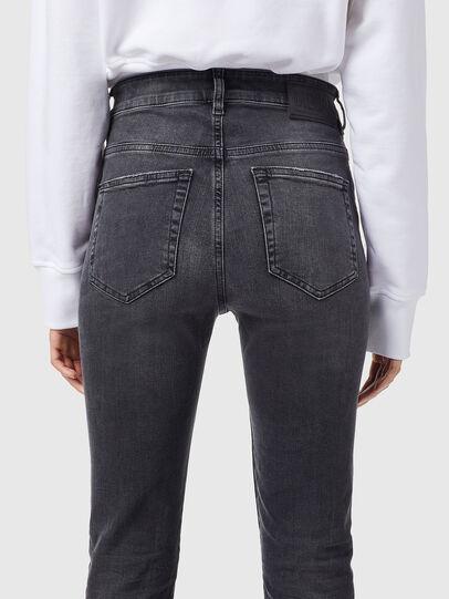Diesel - Slandy High 069XP, Black/Dark grey - Jeans - Image 4